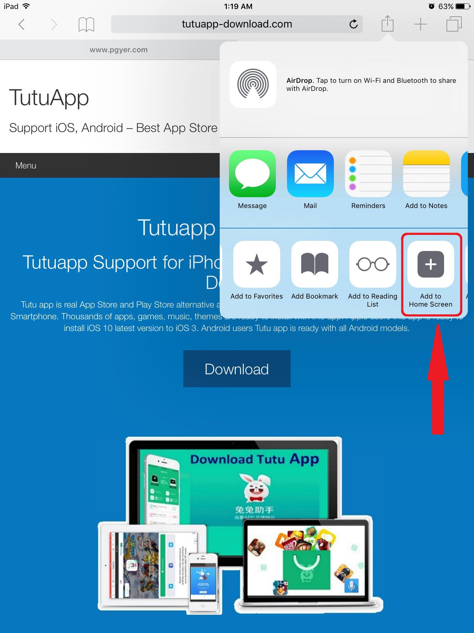 how to update tutuapp