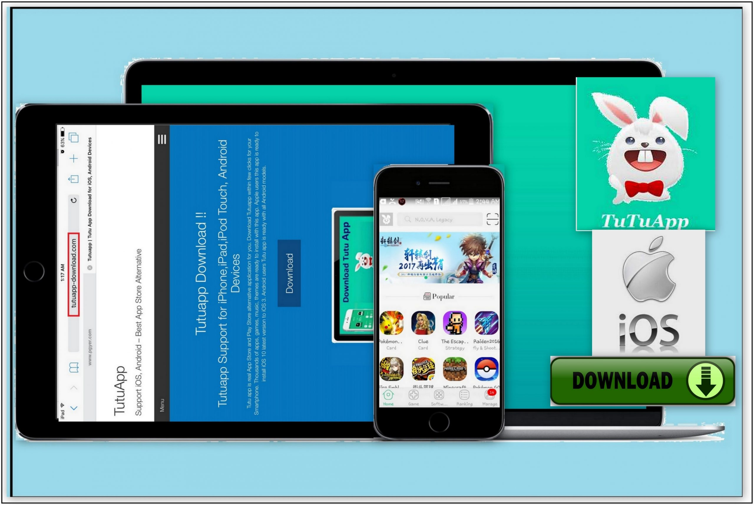 How to Download TutuApp Helper for iPhone, iPad, iPod Touch.