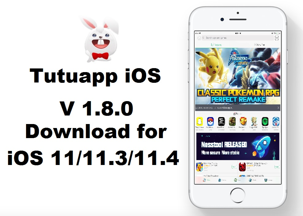 Tutuapp iOS 1 8 0 free downloads for iOS 11and iOS 12