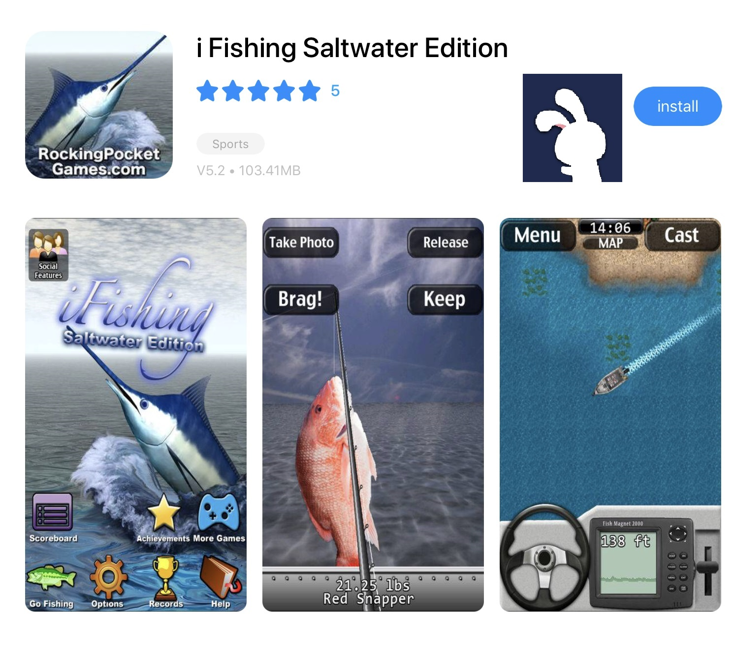 i Fishing Saltwater Edition